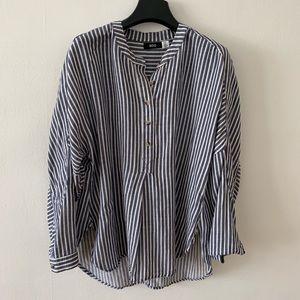 UO vertical stripe shirt